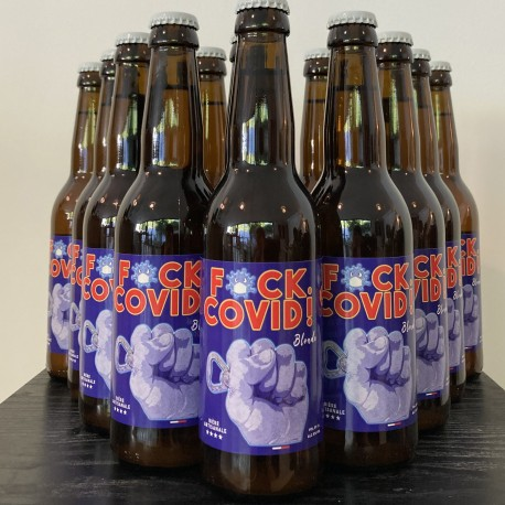 BIERES FUCK COVID 33cl pack X12