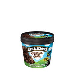 Ben&Jerry's 100ml Chocolate fudge brownie