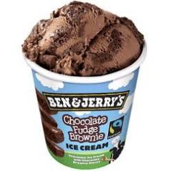 Ben&Jerry's 500ml Chocolate fudge brownie