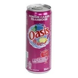 OASIS POMME-CASIS-FRAMBOISE